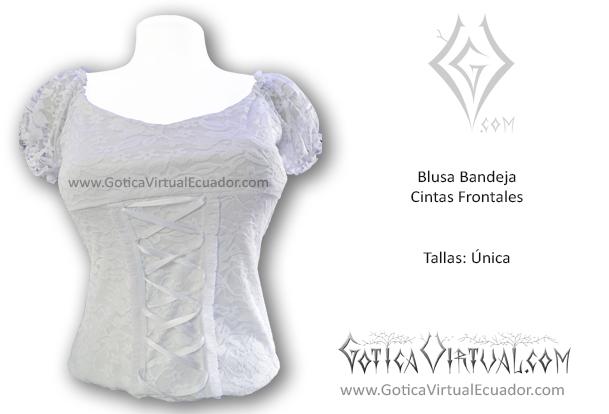 3debb5639 blusa bandeja blanca cintas frontales tienda ecuador quito guayaquil cuenca  ambato loja santo domingo esmeraldas quevedo