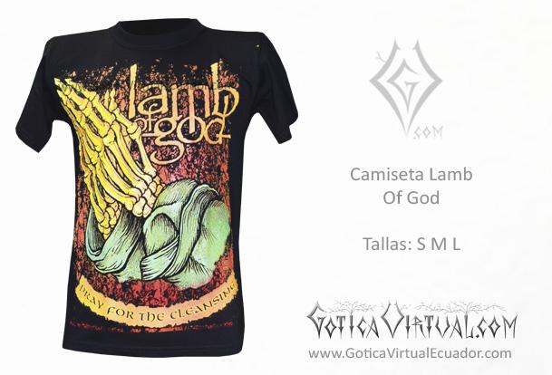 d9440d7d2b51f camiseta masaculina lamb of god metal metalera quito pedidos internet ventas  domicilio